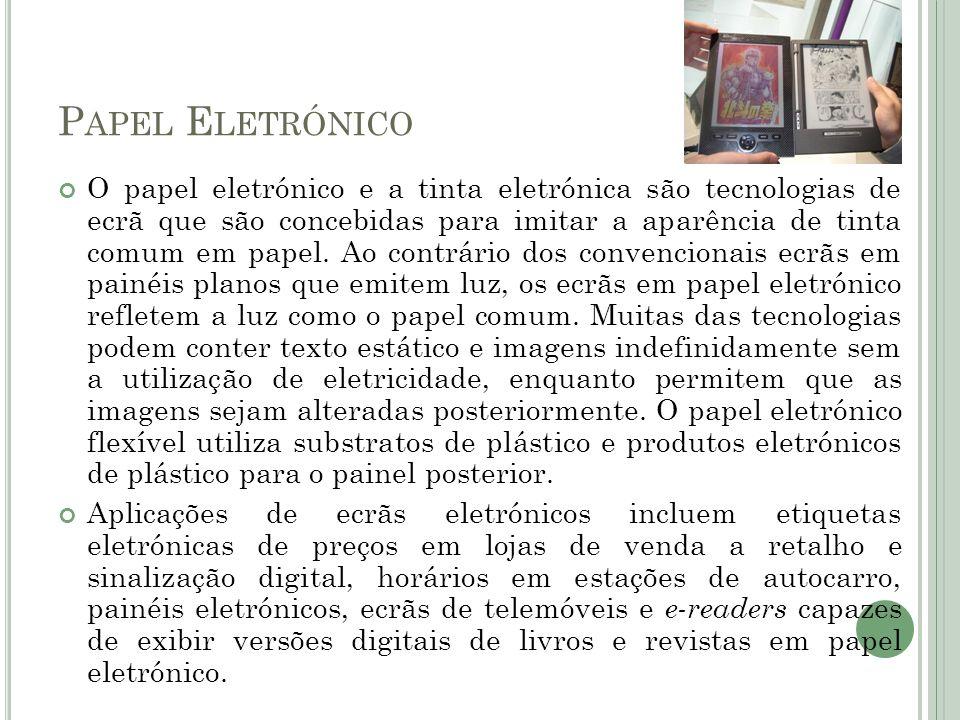 Papel Eletrónico