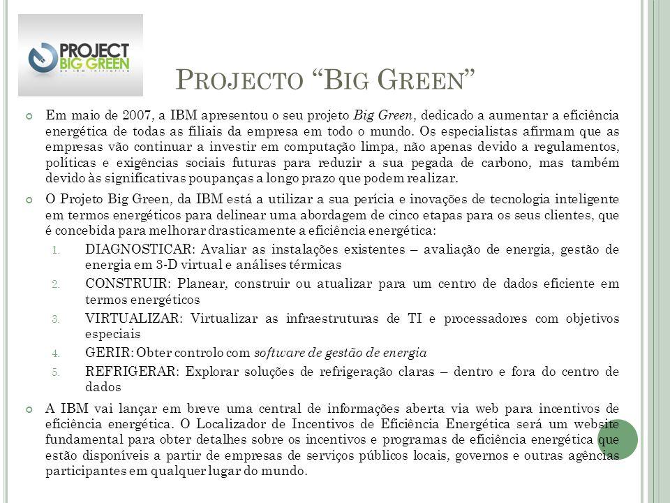 Projecto Big Green