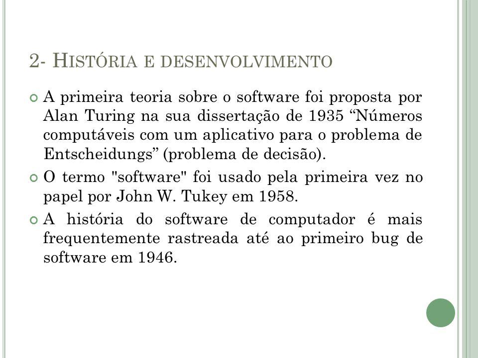 2- História e desenvolvimento