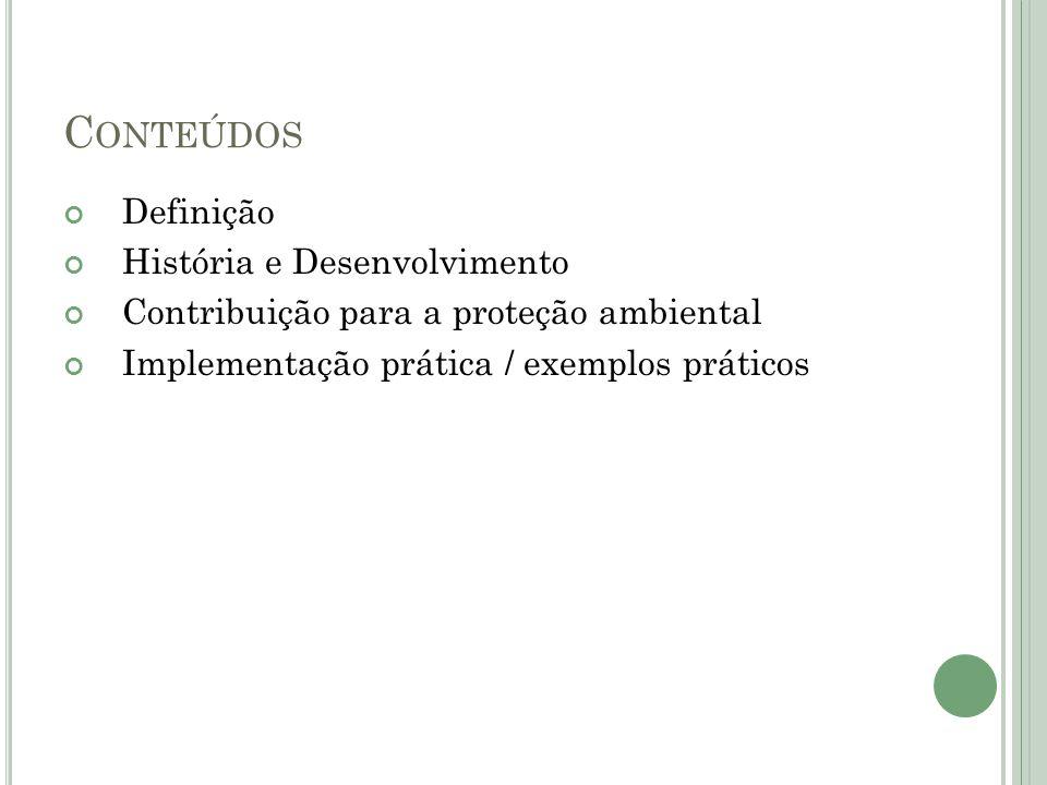 Conteúdos Definição História e Desenvolvimento