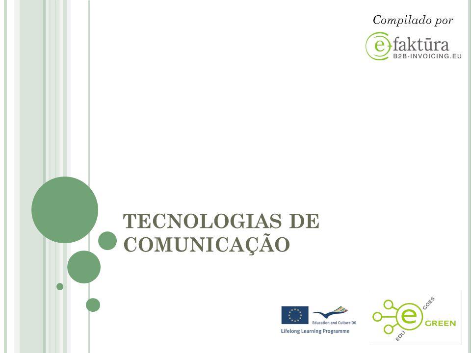 TECNOLOGIAS DE COMUNICAÇÃO