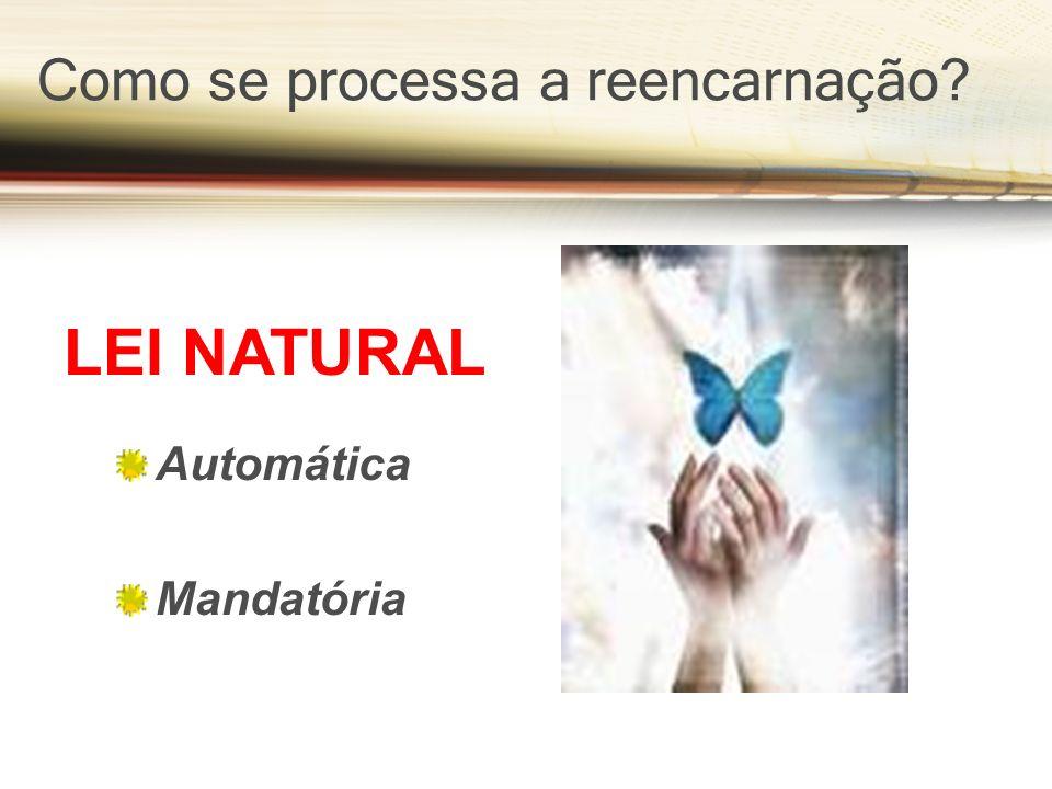 Como se processa a reencarnação