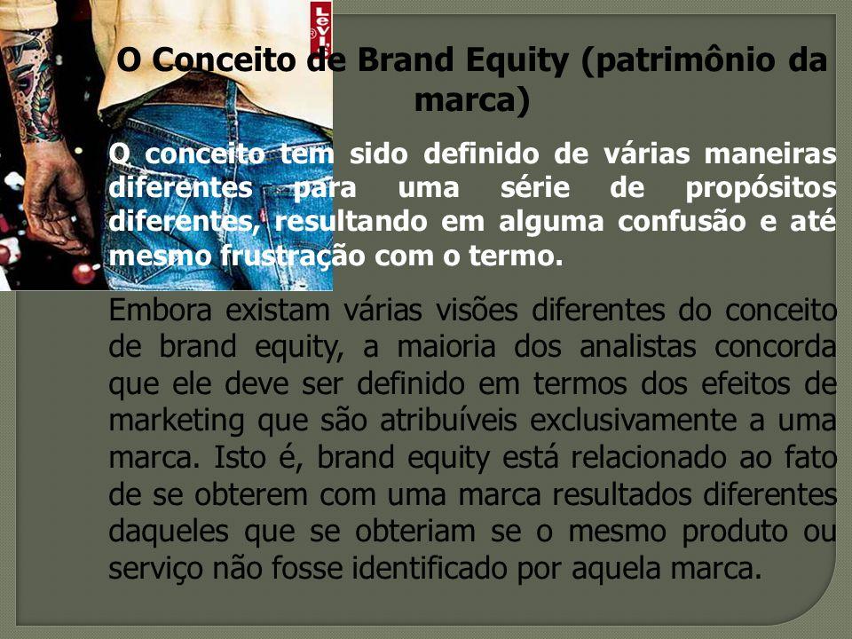 O Conceito de Brand Equity (patrimônio da marca)