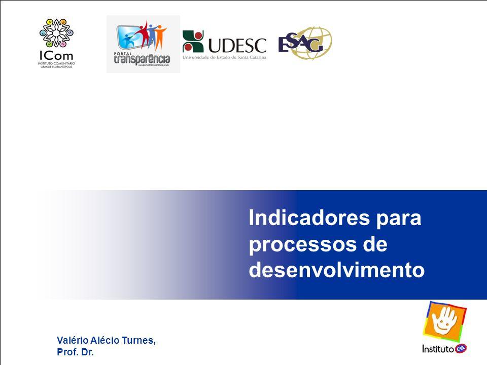 Indicadores para processos de desenvolvimento