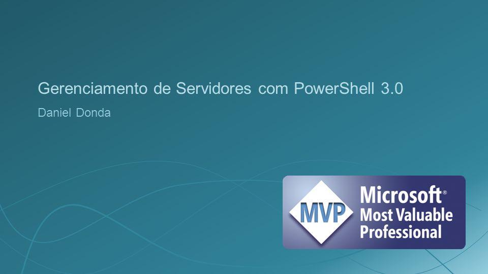 Gerenciamento de Servidores com PowerShell 3.0