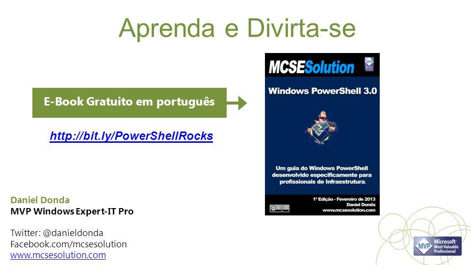 Aprenda e Divirta-se E-Book Gratuito em português