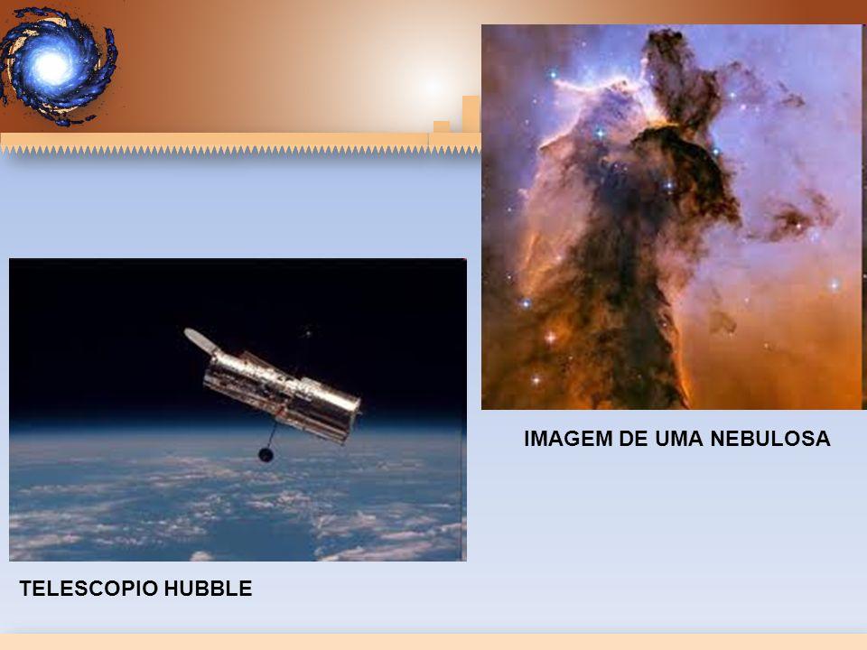 IMAGEM DE UMA NEBULOSA TELESCOPIO HUBBLE