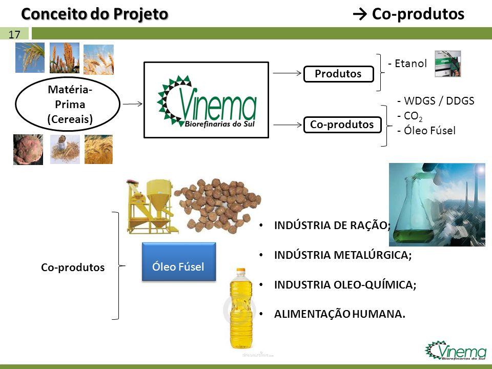 Conceito do Projeto → Co-produtos