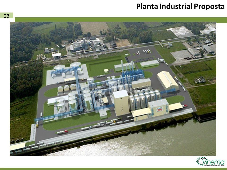 Planta Industrial Proposta