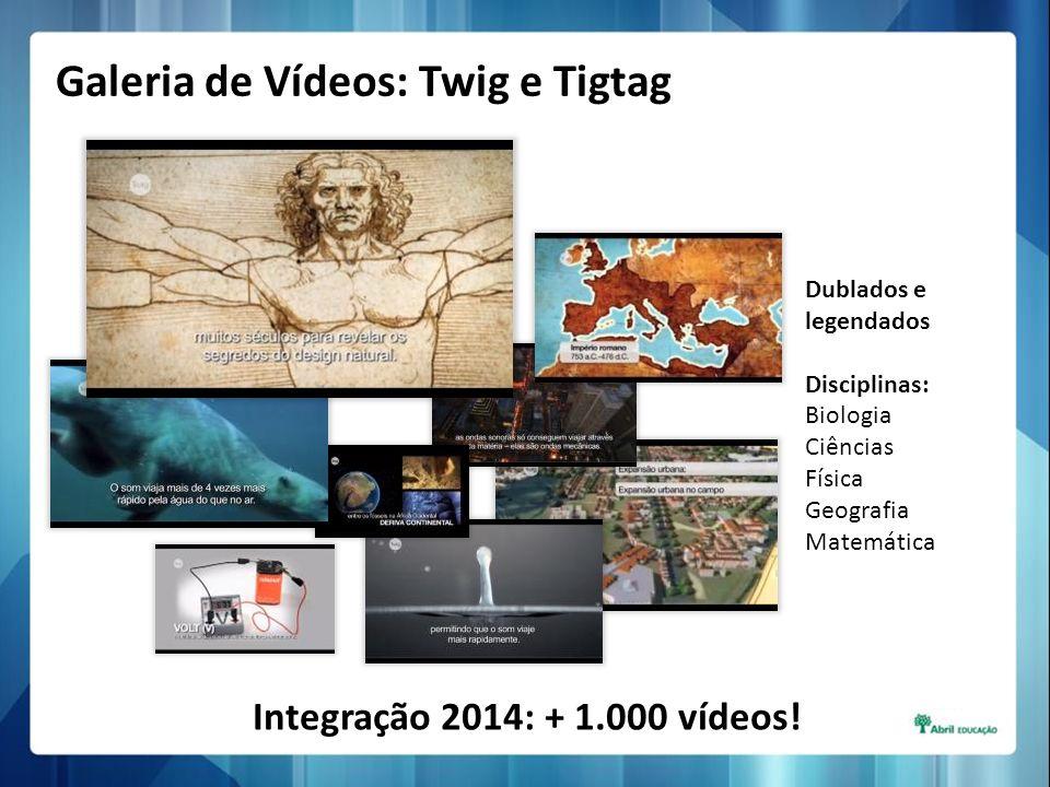 Galeria de Vídeos: Twig e Tigtag