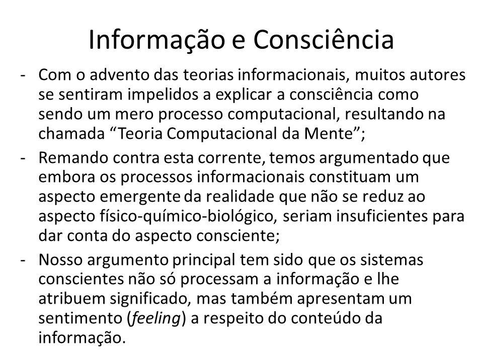 Informação e Consciência