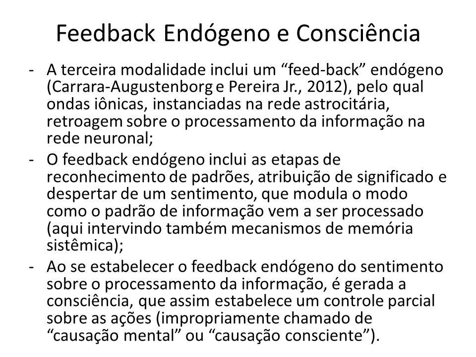 Feedback Endógeno e Consciência