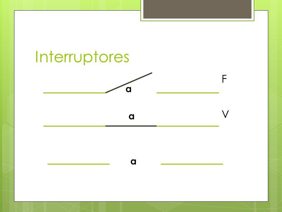 Interruptores F a V a a