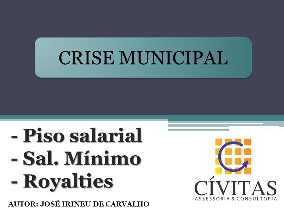 - Piso salarial - Sal. Mínimo - Royalties