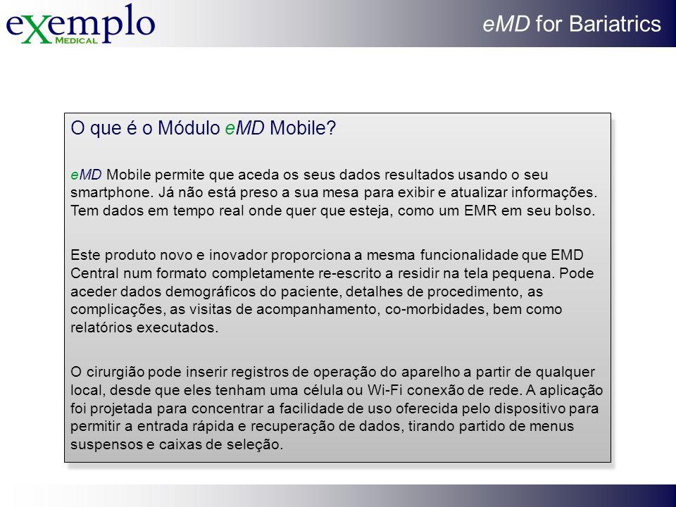 O que é o Módulo eMD Mobile