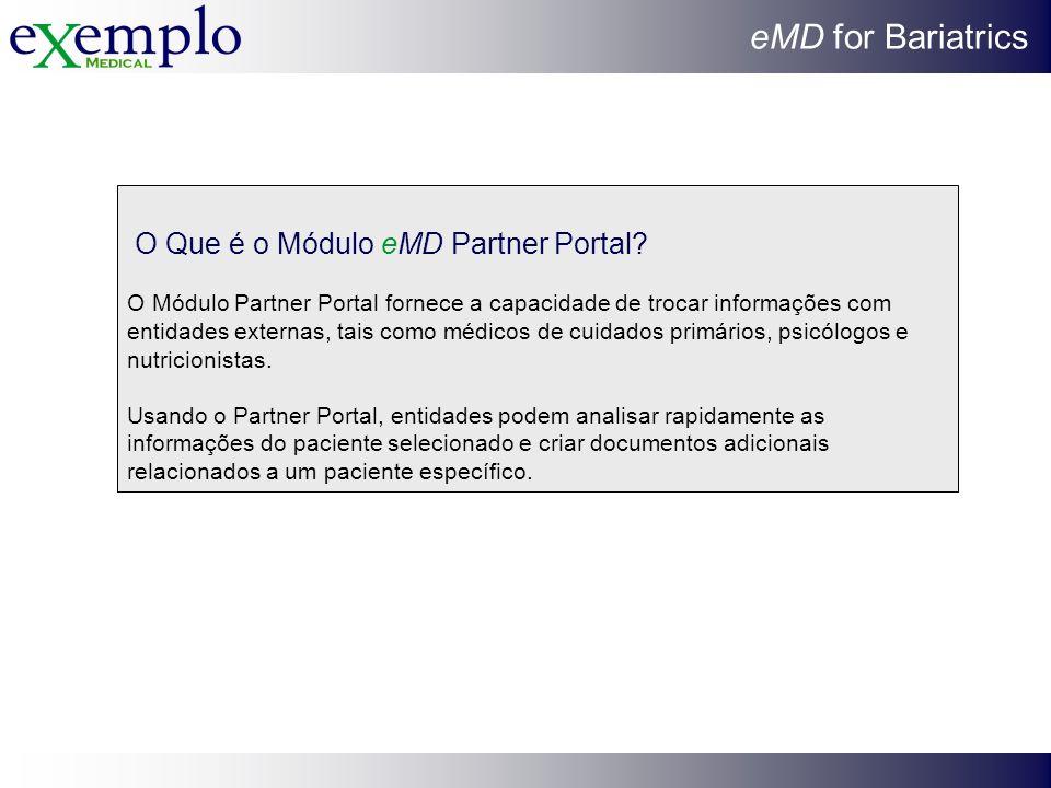 O Que é o Módulo eMD Partner Portal