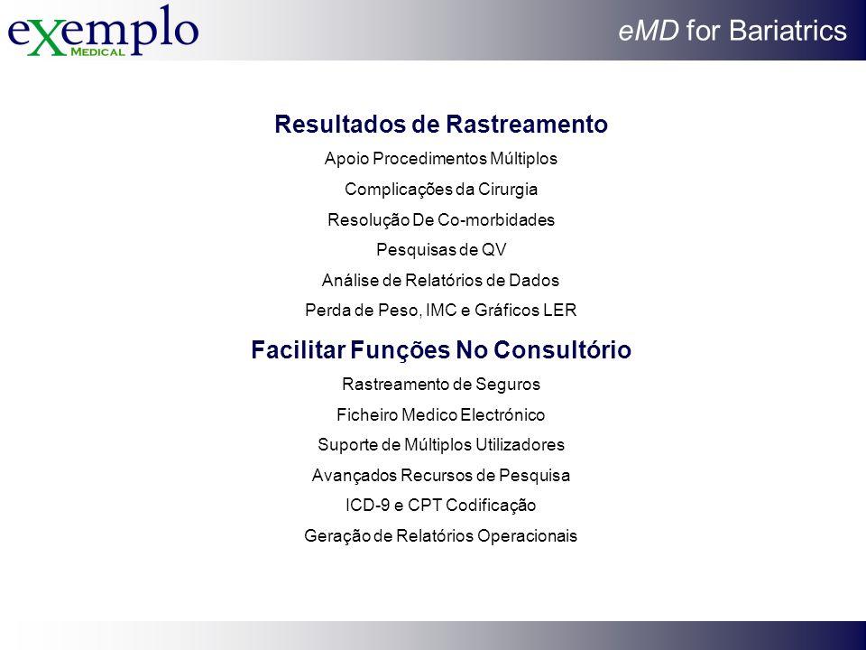 Resultados de Rastreamento Facilitar Funções No Consultório