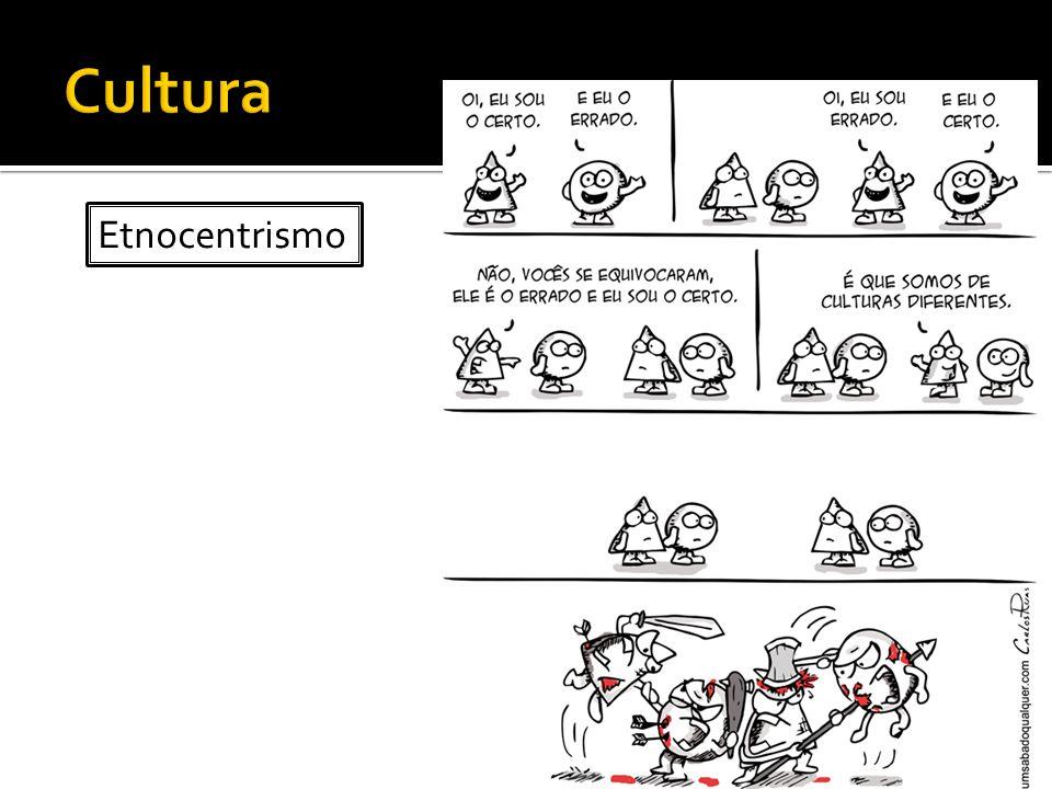 Cultura Etnocentrismo