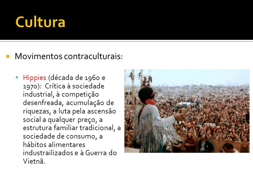 Cultura Movimentos contraculturais:
