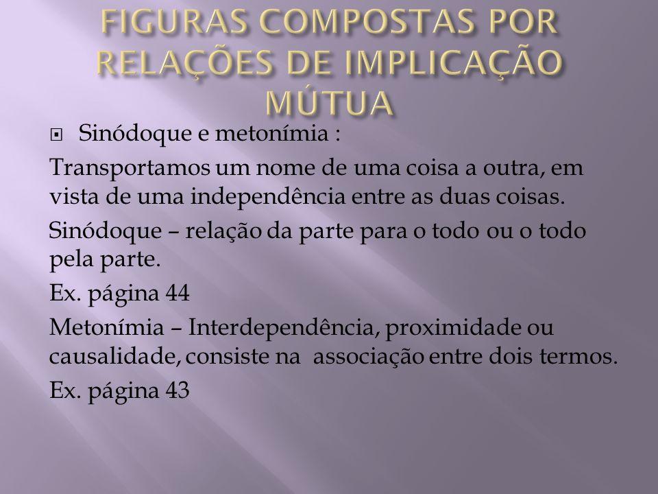 FIGURAS COMPOSTAS POR RELAÇÕES DE IMPLICAÇÃO MÚTUA