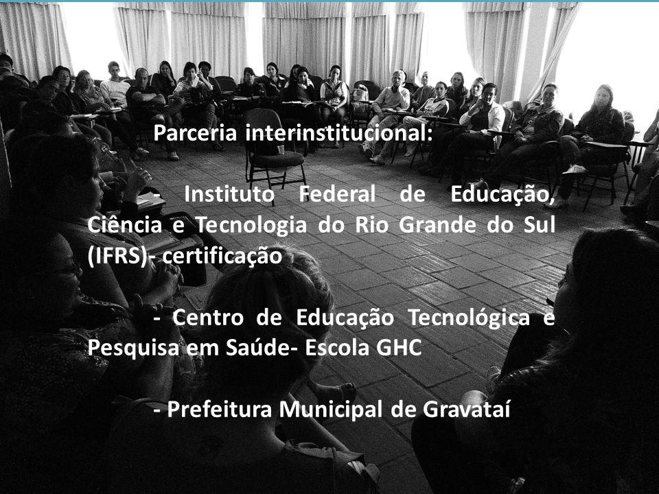 - Centro de Educação Tecnológica e Pesquisa em Saúde- Escola GHC