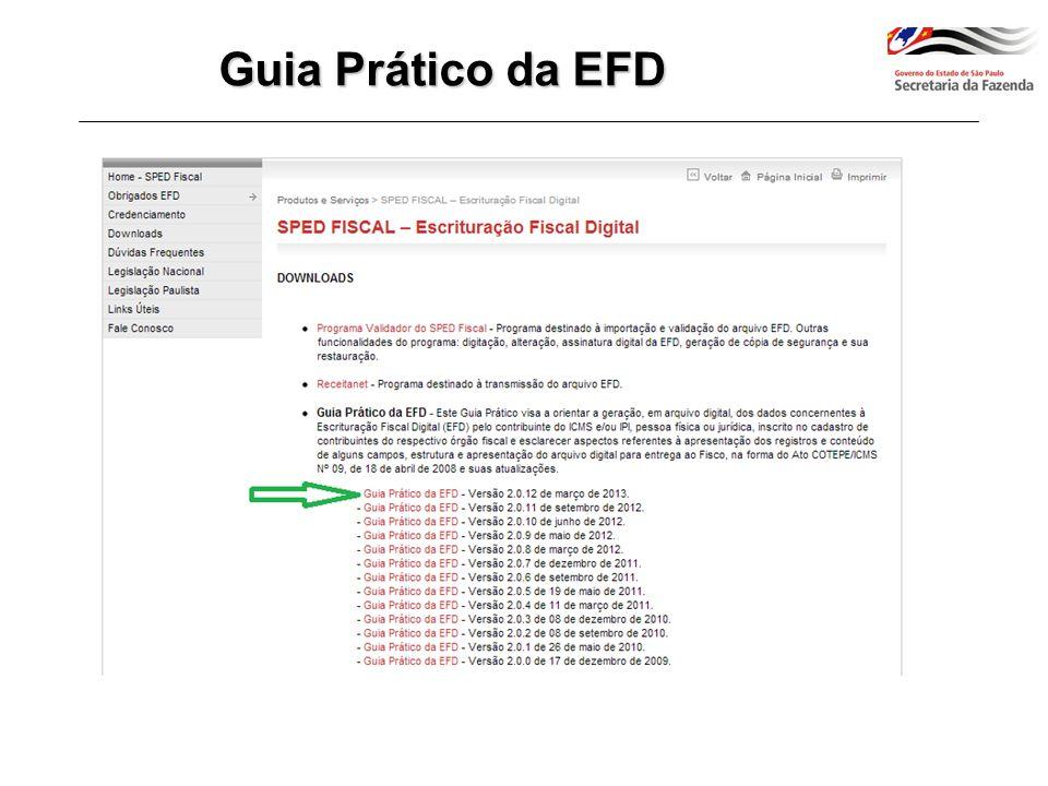Guia Prático da EFD