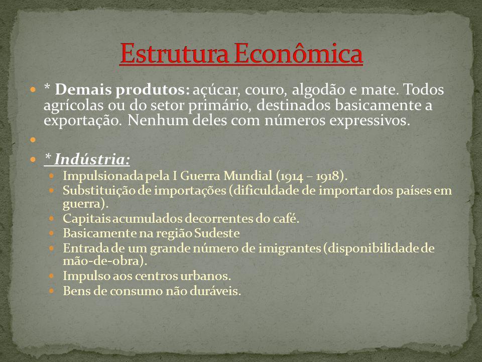 Estrutura Econômica
