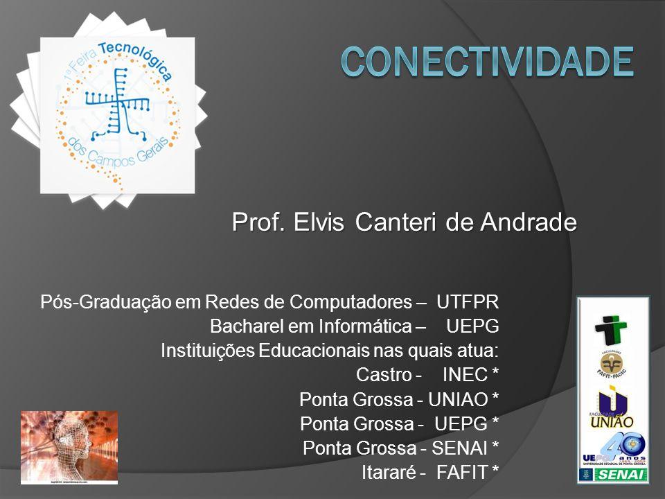 Conectividade Prof. Elvis Canteri de Andrade