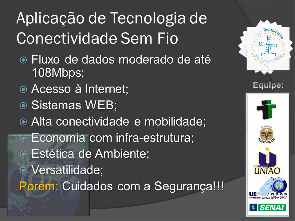 Aplicação de Tecnologia de Conectividade Sem Fio