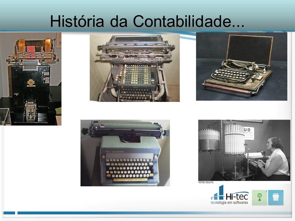 História da Contabilidade...