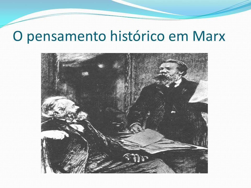 O pensamento histórico em Marx