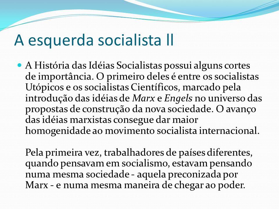 A esquerda socialista ll