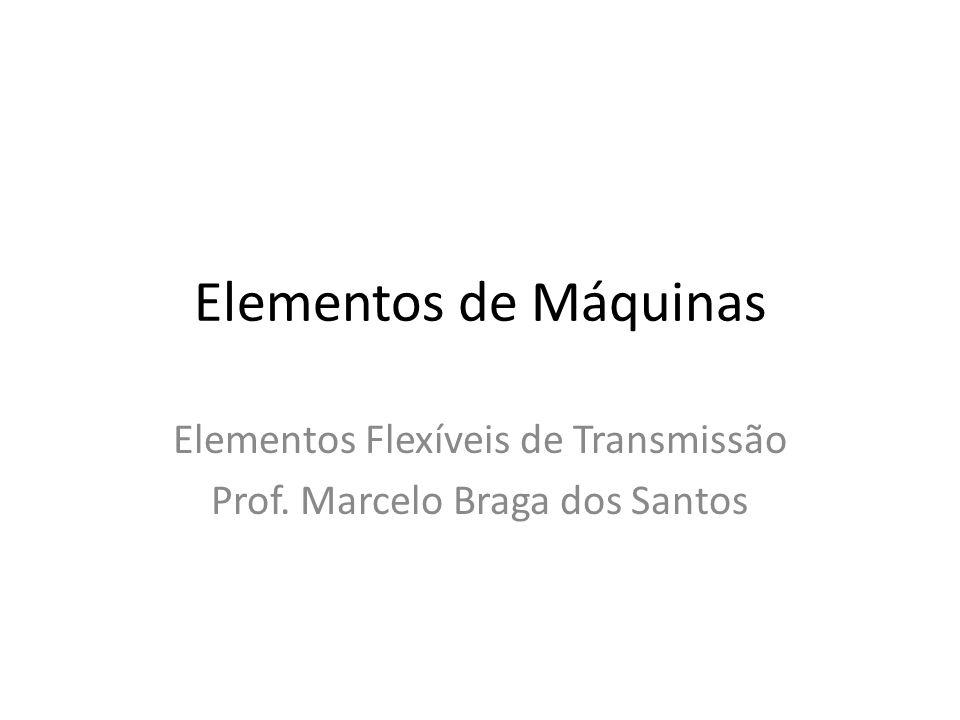 Elementos Flexíveis de Transmissão Prof. Marcelo Braga dos Santos