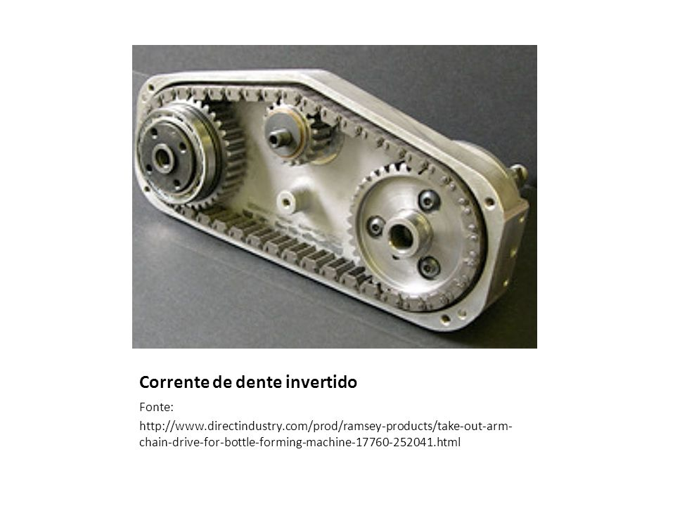 Corrente de dente invertido