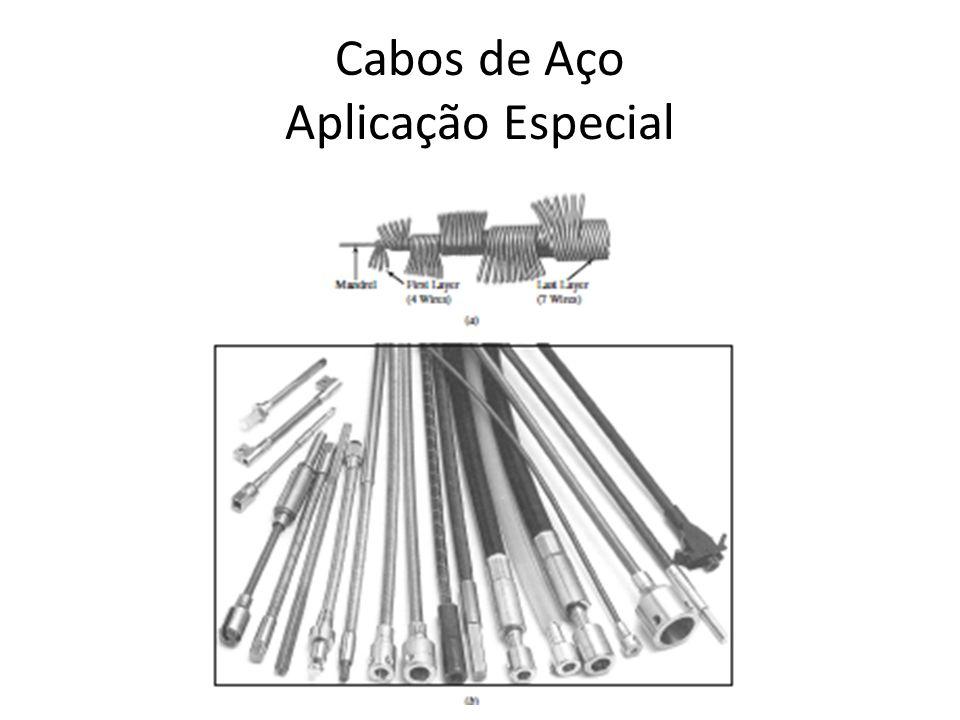 Cabos de Aço Aplicação Especial