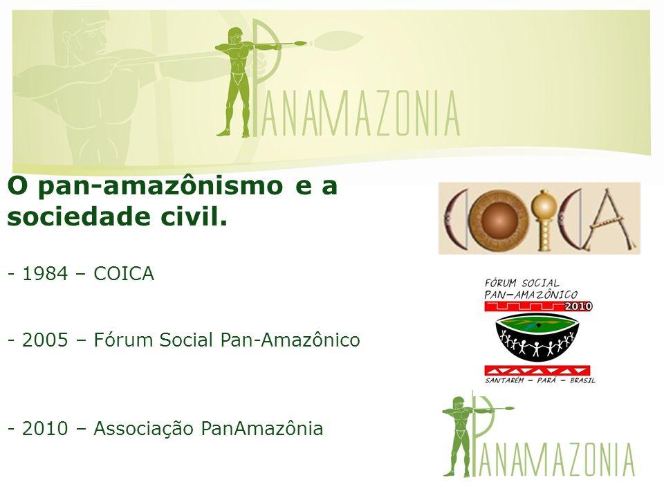 O pan-amazônismo e a sociedade civil. 1984 – COICA