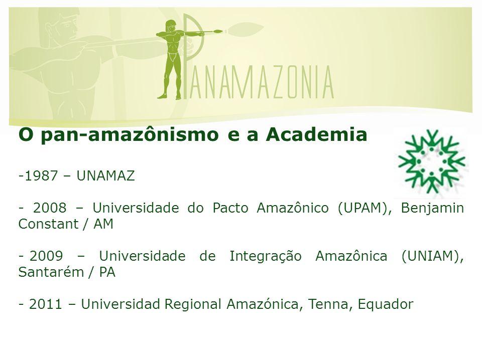 O pan-amazônismo e a Academia