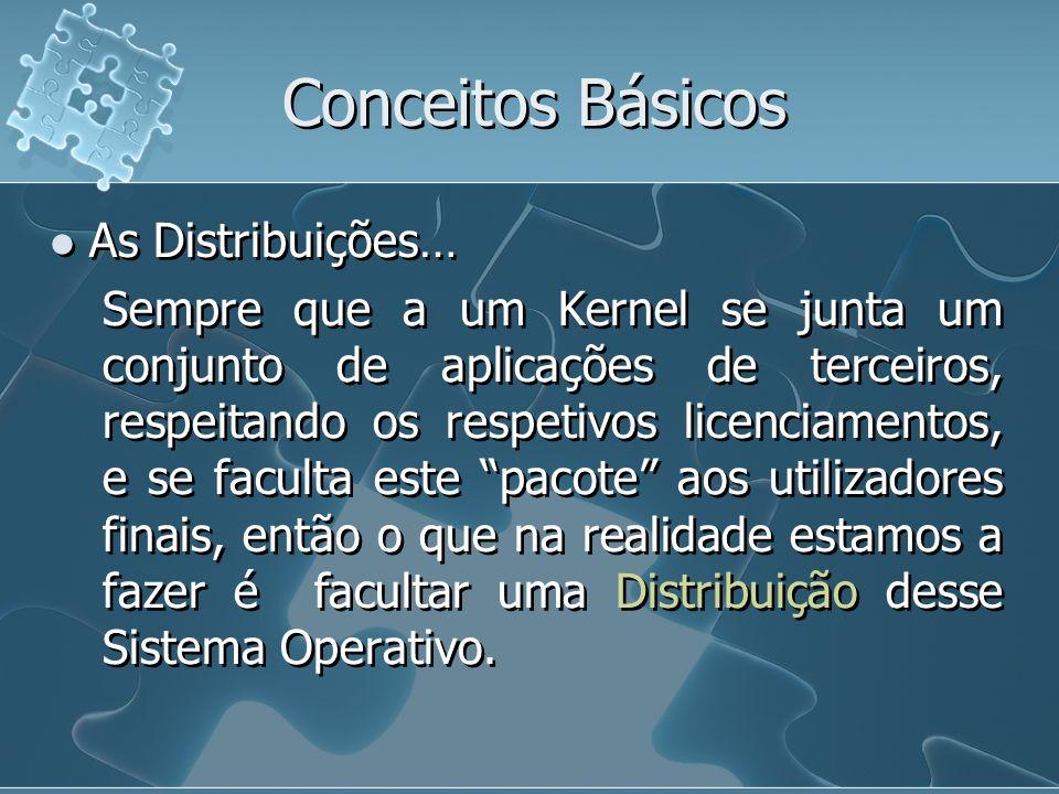 Conceitos Básicos As Distribuições…