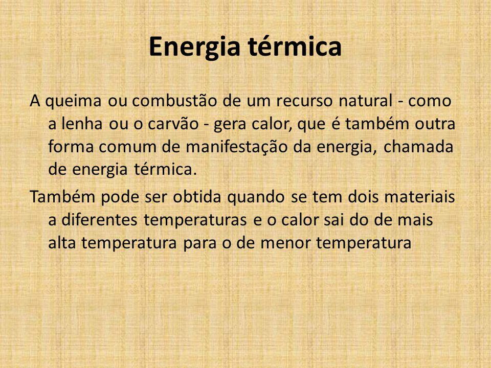 Energia térmica