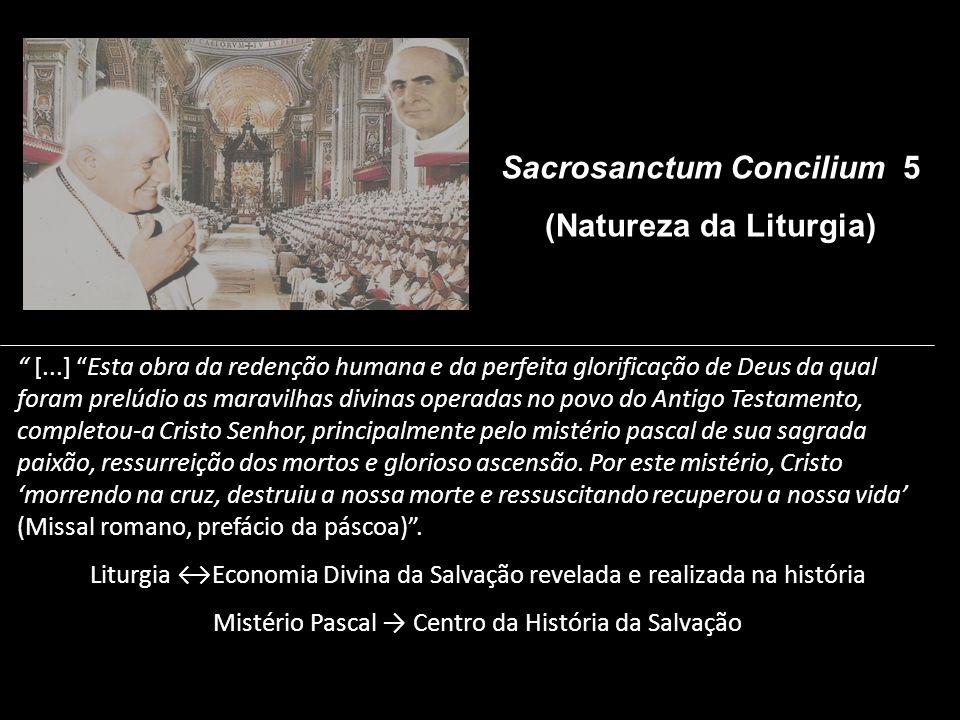 (Natureza da Liturgia)