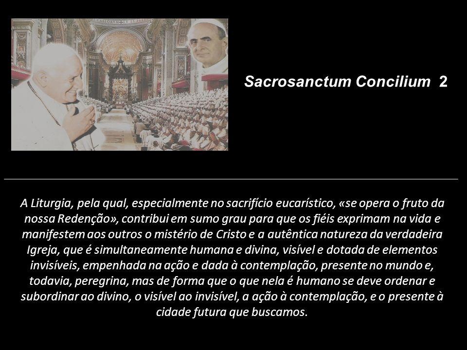 Sacrosanctum Concilium 2