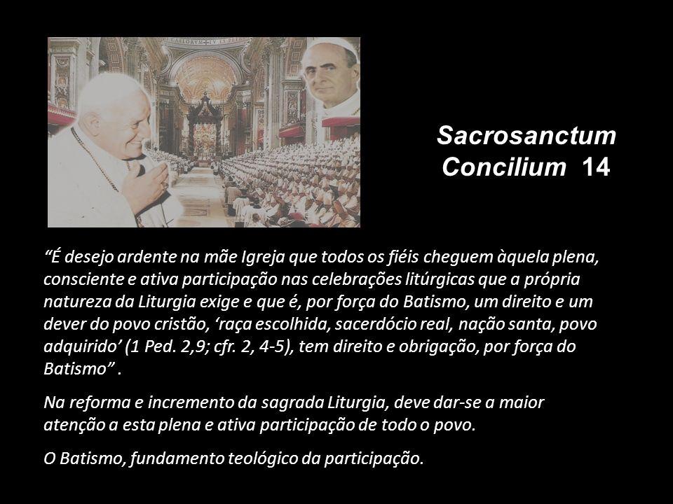 Sacrosanctum Concilium 14