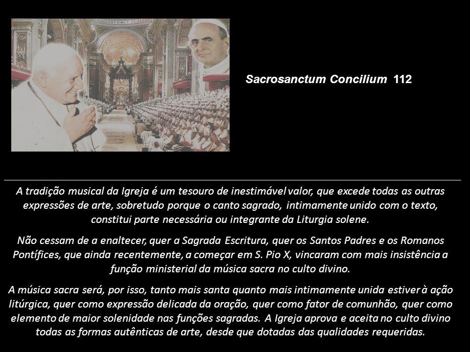 Sacrosanctum Concilium 112