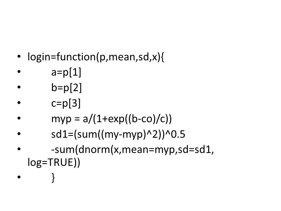 login=function(p,mean,sd,x){