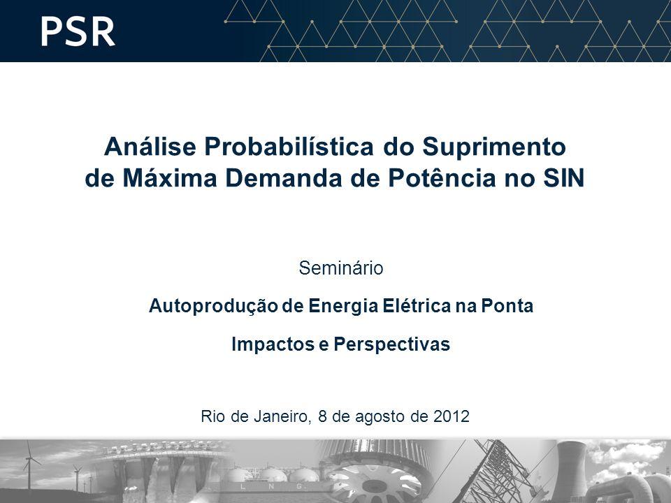 Autoprodução de Energia Elétrica na Ponta Impactos e Perspectivas