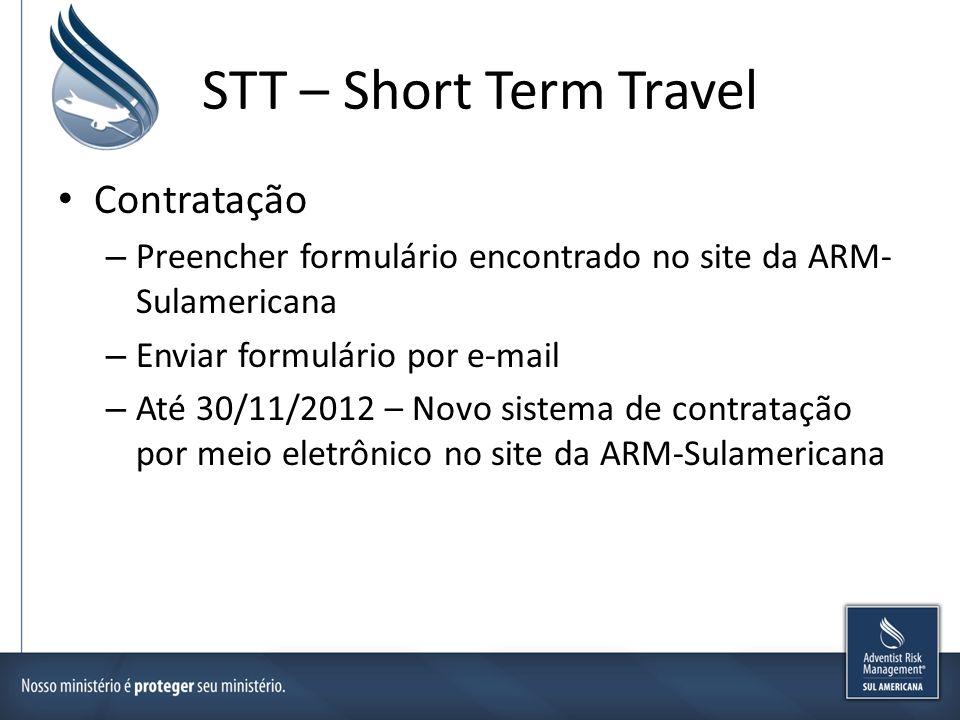 STT – Short Term Travel Contratação