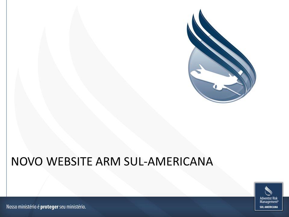 NOVO WEBSITE ARM SUL-AMERICANA