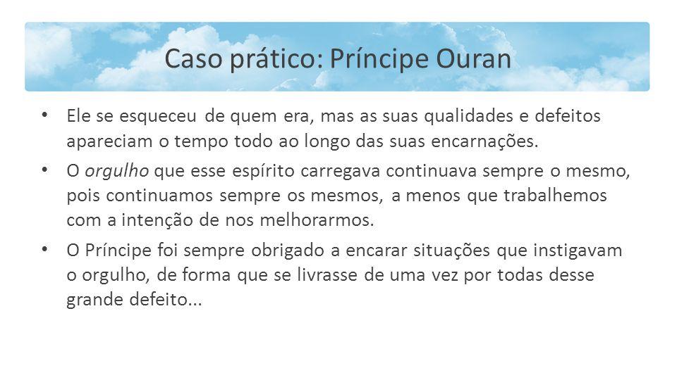 Caso prático: Príncipe Ouran