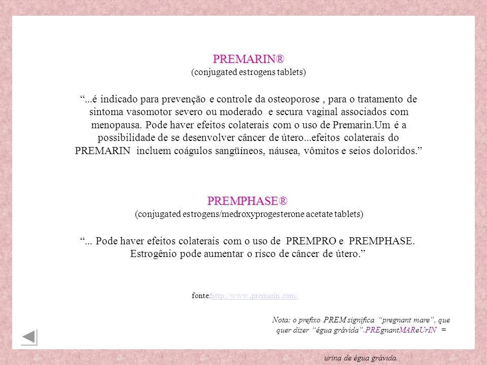 PREMARIN® (conjugated estrogens tablets)