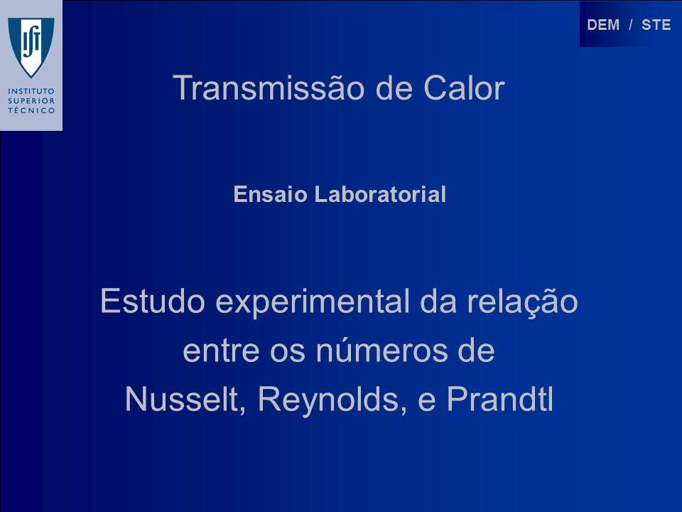 Estudo experimental da relação entre os números de
